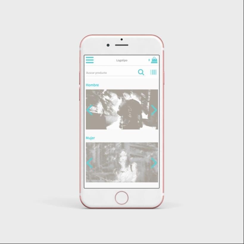 Mi Proyecto del curso: UX: prototipado y diseño de una app de comercio electrónico con Axure 8 1