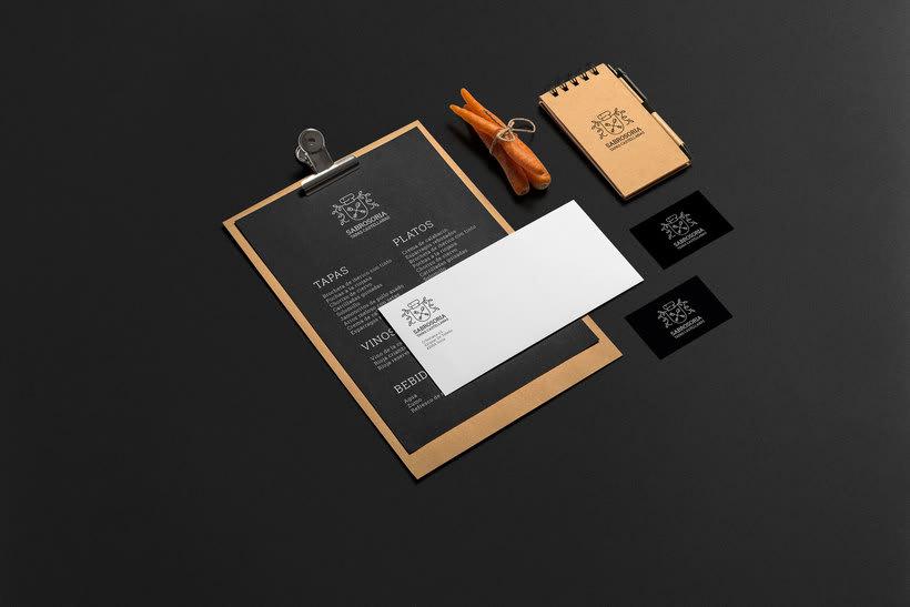 Diseño de logotipo - Restaurante 1
