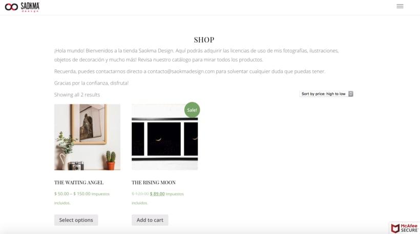 Mi Proyecto del curso: Creación de una tienda online en WordPress -1