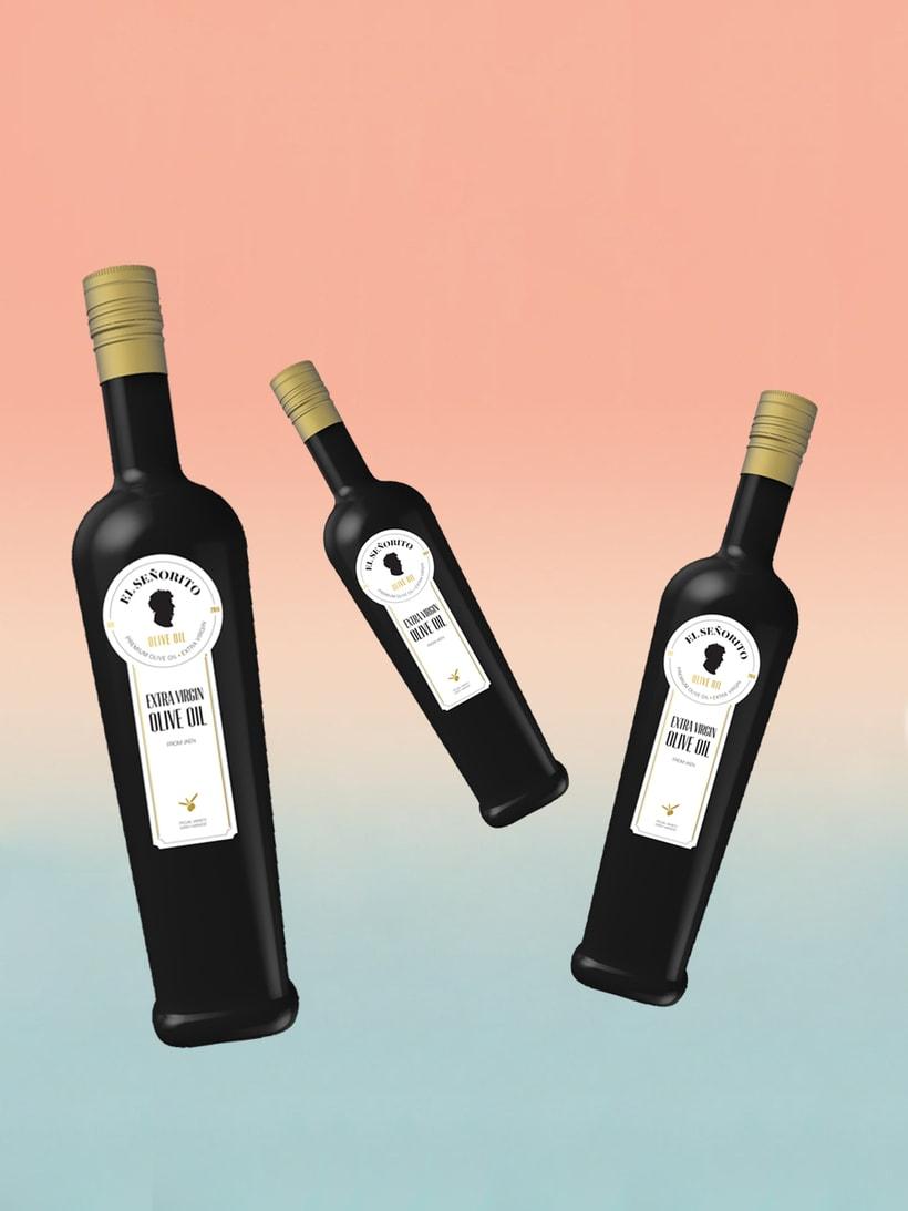 """Aceite Premium de olivos milenarios """"El Señorito"""" 3"""
