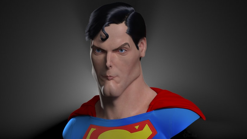 Jeff Stahl's Superman by Dr. Stendhal 3