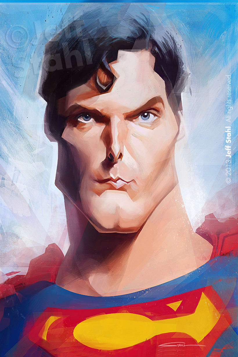 Jeff Stahl's Superman by Dr. Stendhal 4
