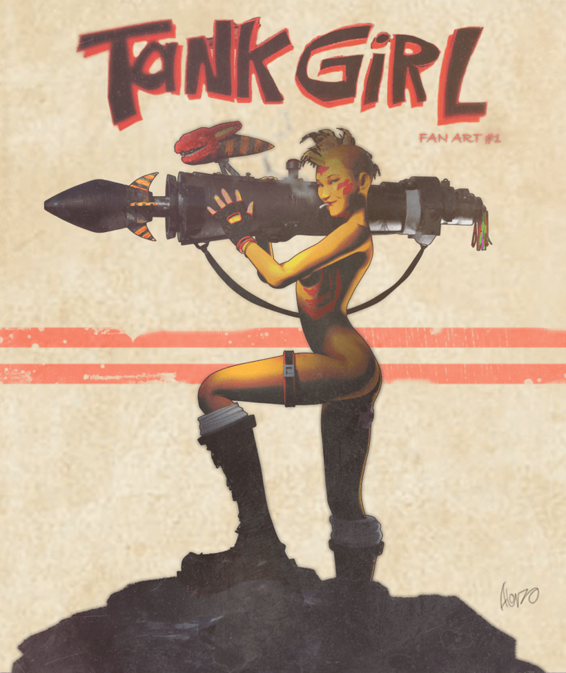 TANK GIRL Fan Art #1 -1