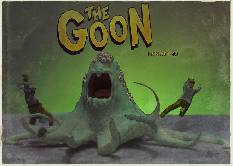 THE GOON Fan Art #3 -1