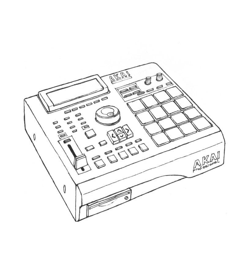 AKAI MPC 2000XL 2