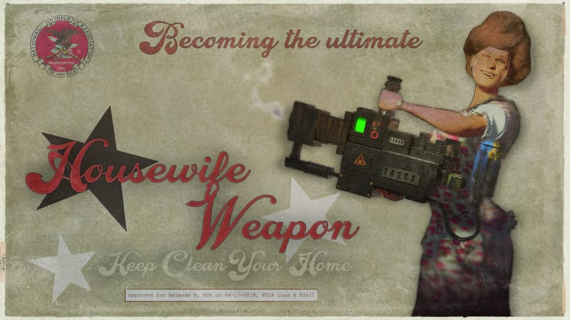 Housewife Weapon -1