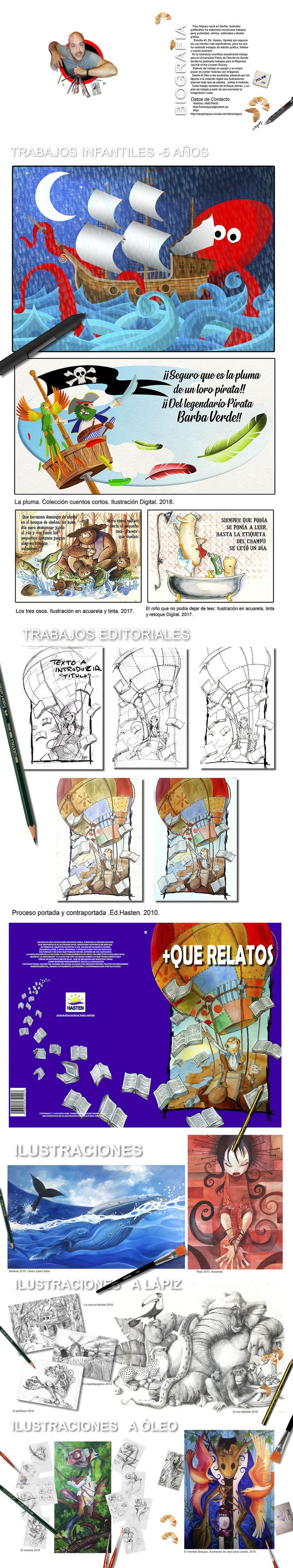 Mi Proyecto del curso: Claves para crear un portafolio de ilustración profesional 0