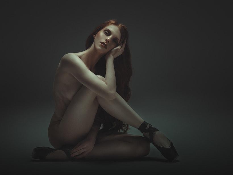 Trabajos realizados en el curso de fotografía de desnudo artístico 0