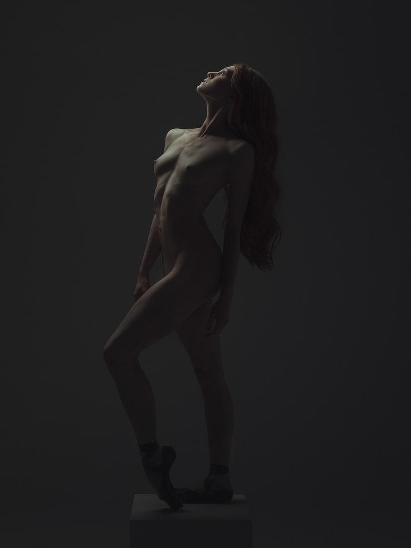 Trabajos realizados en el curso de fotografía de desnudo artístico 3