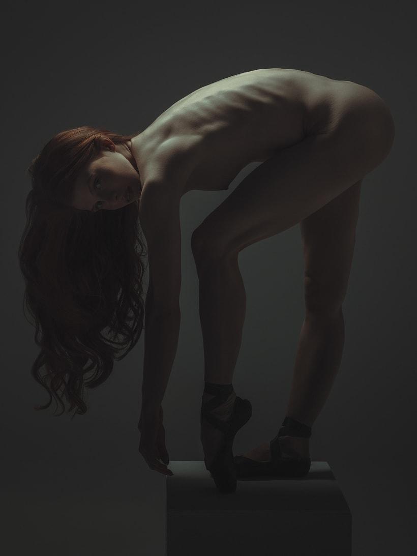 Trabajos realizados en el curso de fotografía de desnudo artístico 4