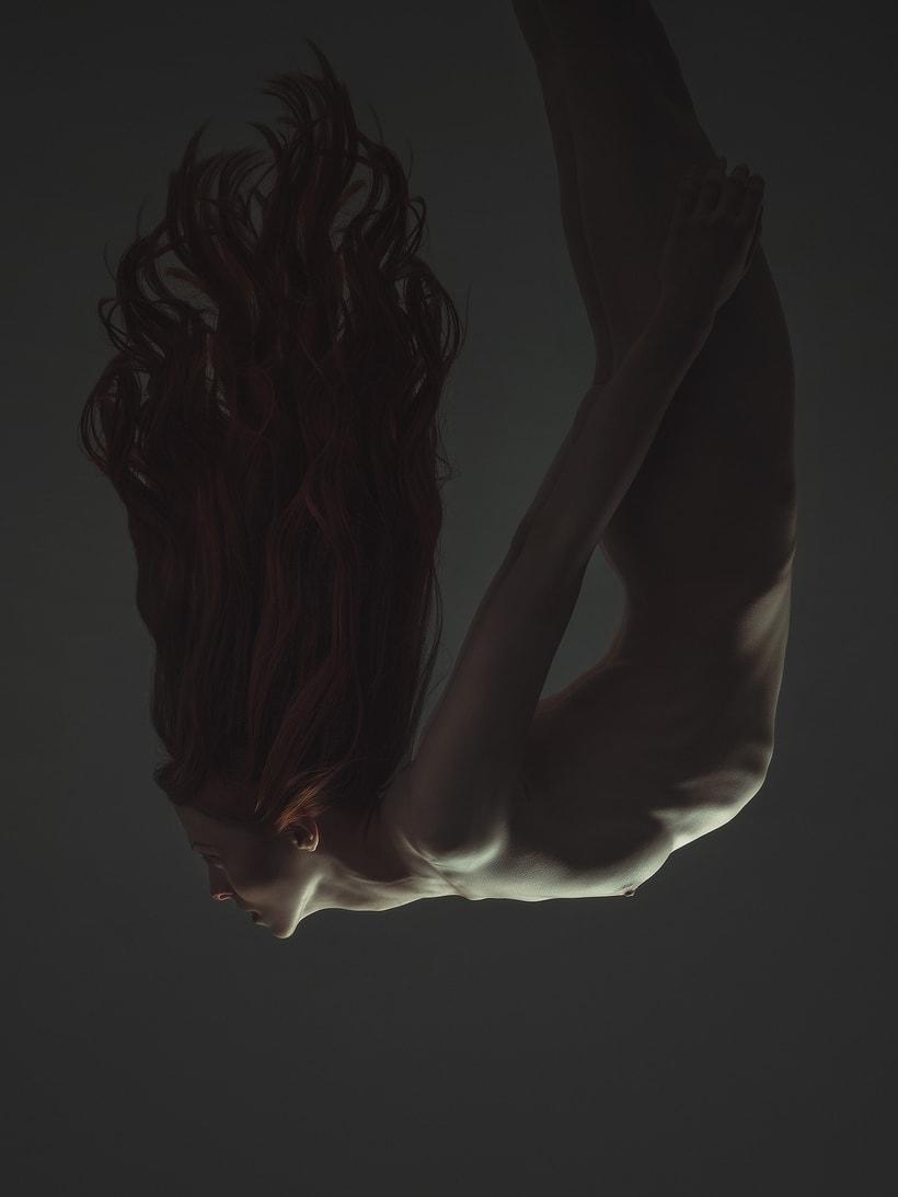 Trabajos realizados en el curso de fotografía de desnudo artístico 5