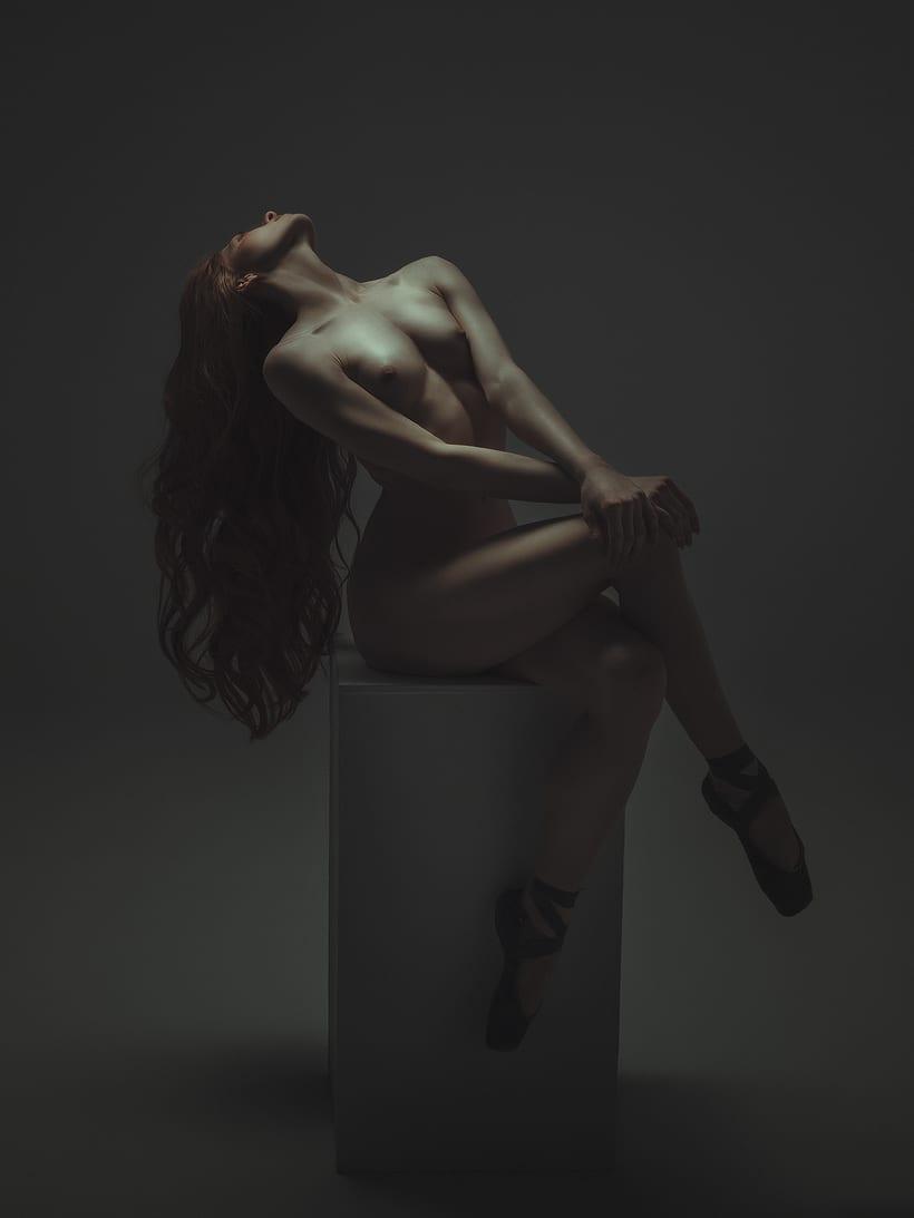 Trabajos realizados en el curso de fotografía de desnudo artístico 6