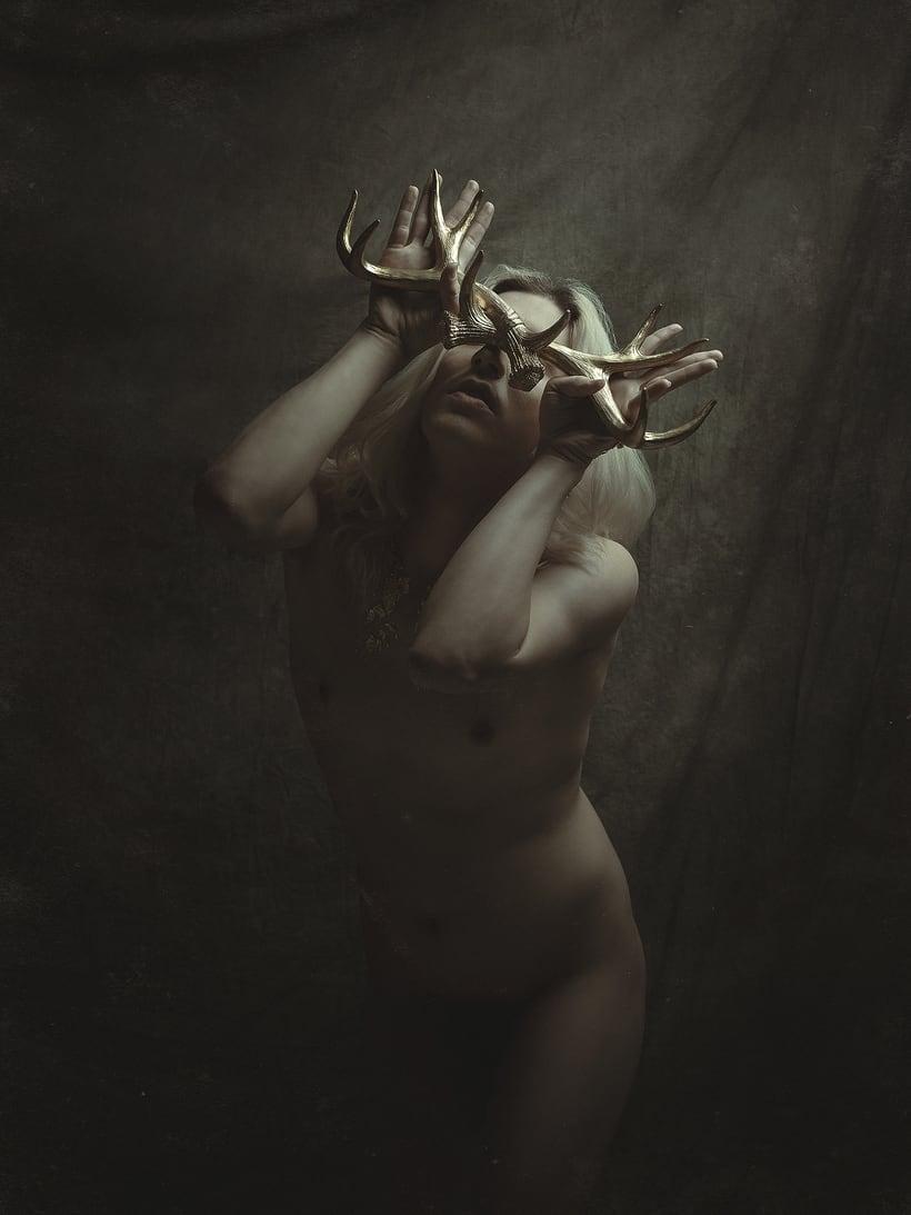 Trabajos realizados en el curso de fotografía de desnudo artístico 7