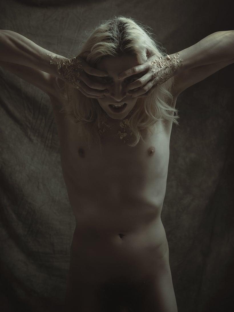 Trabajos realizados en el curso de fotografía de desnudo artístico 12