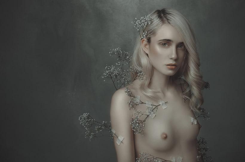Trabajos realizados en el curso de fotografía de desnudo artístico 14