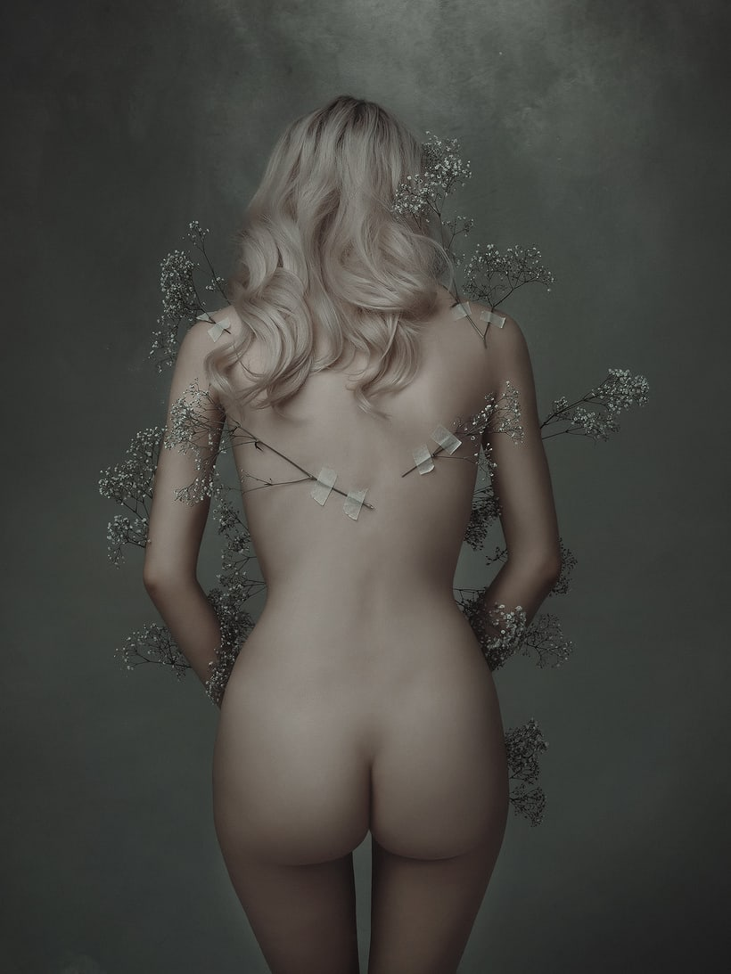 Trabajos realizados en el curso de fotografía de desnudo artístico 15