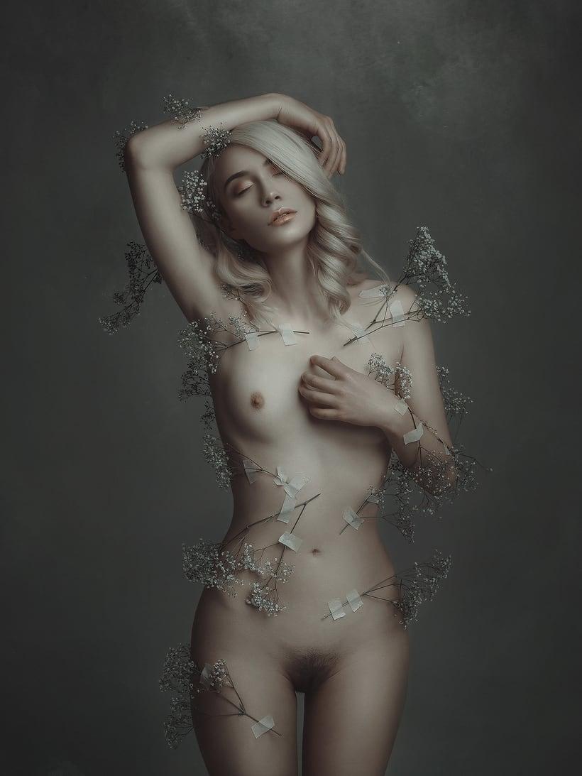 Trabajos realizados en el curso de fotografía de desnudo artístico 17