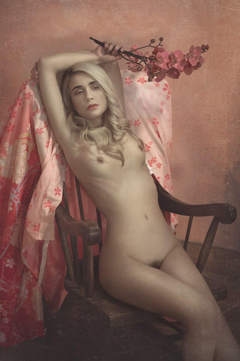 Trabajos realizados en el curso de fotografía de desnudo artístico 18
