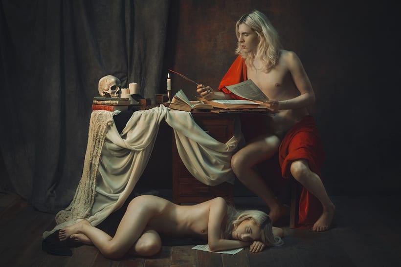 Trabajos realizados en el curso de fotografía de desnudo artístico 27