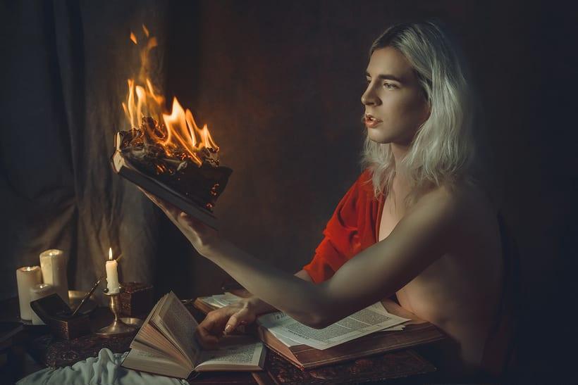 Trabajos realizados en el curso de fotografía de desnudo artístico 30