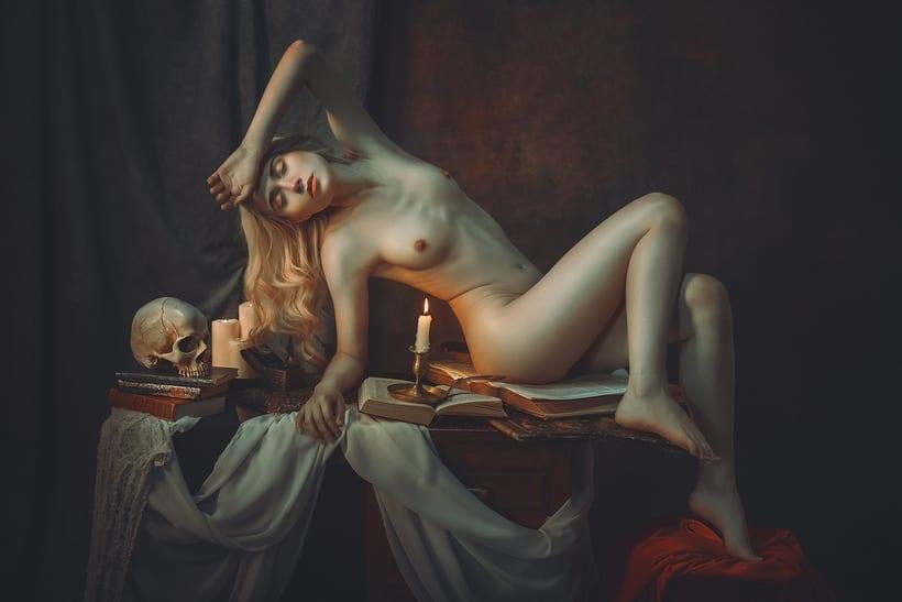 Trabajos realizados en el curso de fotografía de desnudo artístico 31