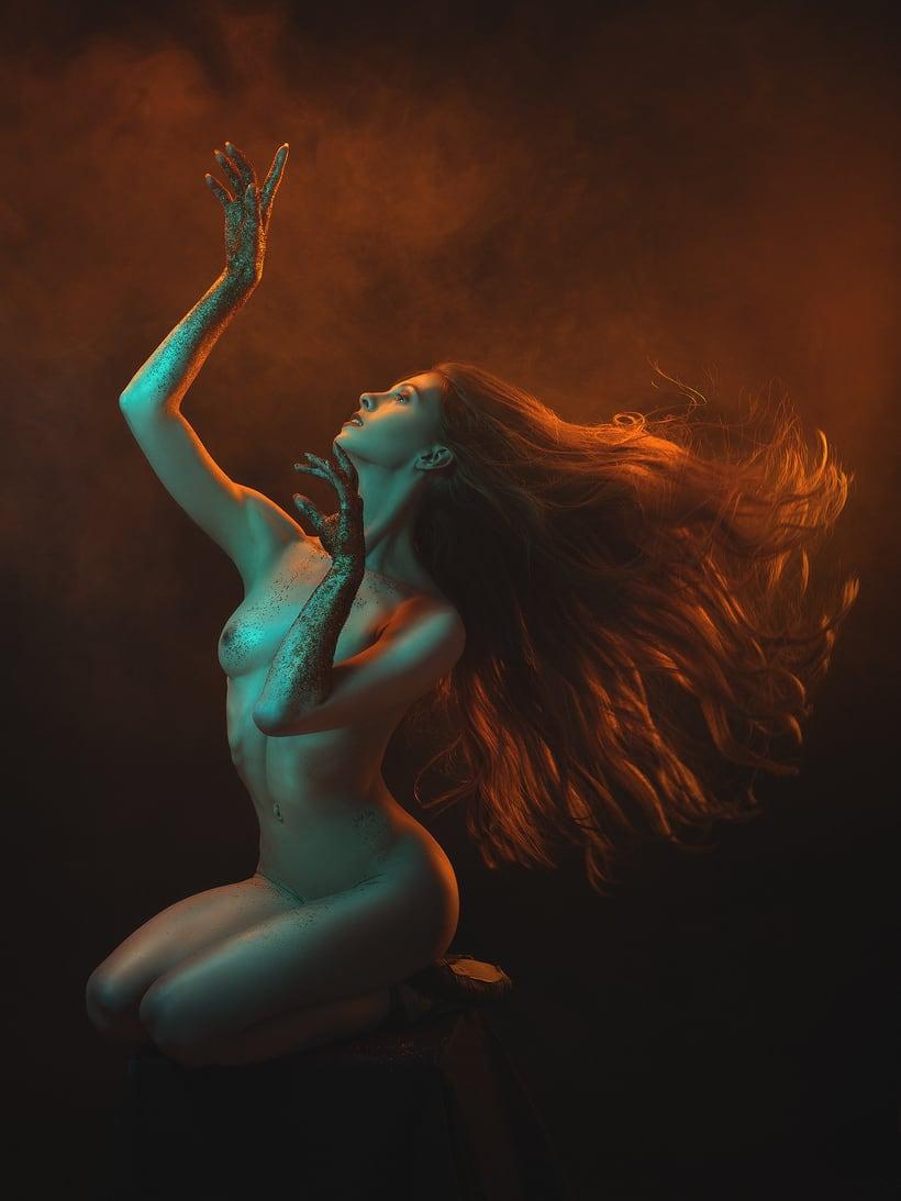 Trabajos realizados en el curso de fotografía de desnudo artístico 26