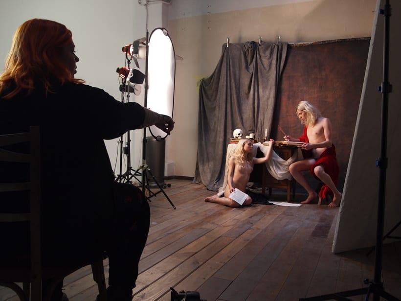 Trabajos realizados en el curso de fotografía de desnudo artístico 36