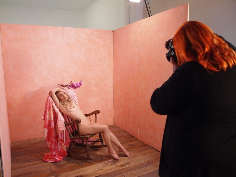 Trabajos realizados en el curso de fotografía de desnudo artístico 37