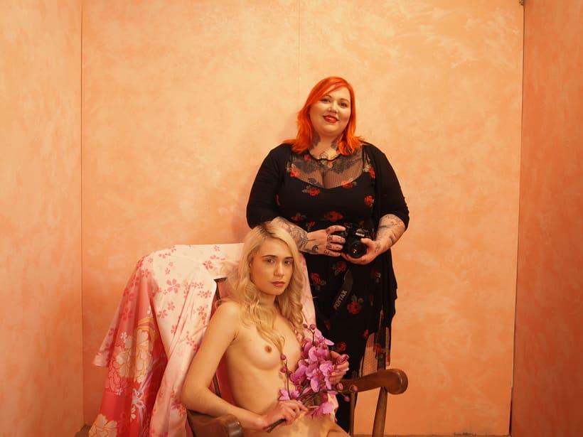 Trabajos realizados en el curso de fotografía de desnudo artístico 38