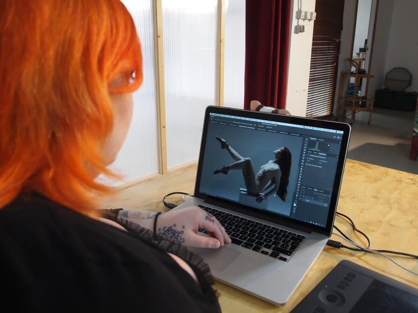 Trabajos realizados en el curso de fotografía de desnudo artístico 41