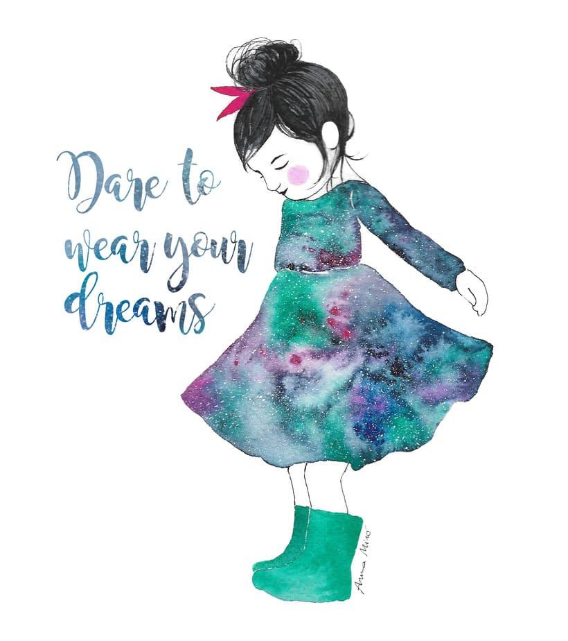 Mi Proyecto del curso: Dare to wear your Dreams -1