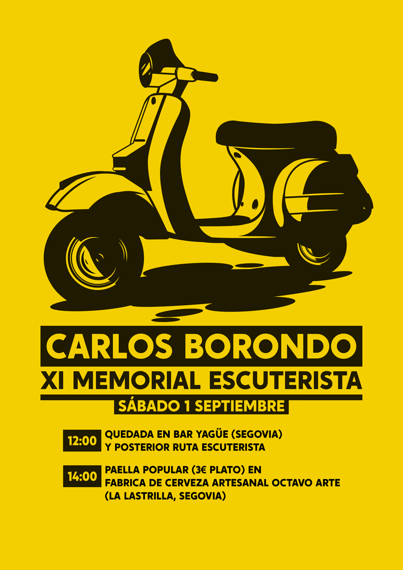 Cartel XI Memorial Escuterista -1