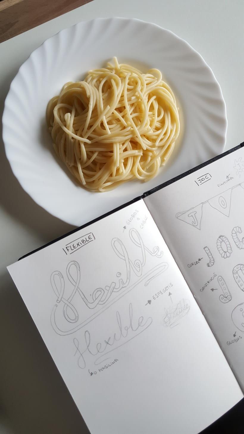 TIPOGRAFIA | Flexible | Espaguettis 0