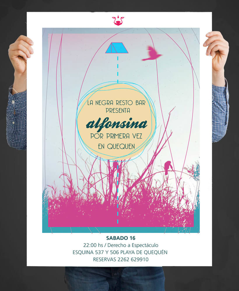 Posters for Alfonsina 6