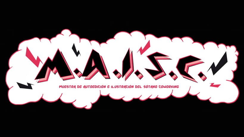 """Imagen para redes, Cartel y Flyer. Muestra de Cómic e Ilustración """"Maisc"""" 0"""