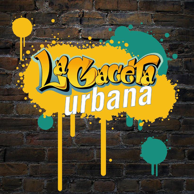Pruebas Logo La Gaceta Urbana. Revista juvenil 0