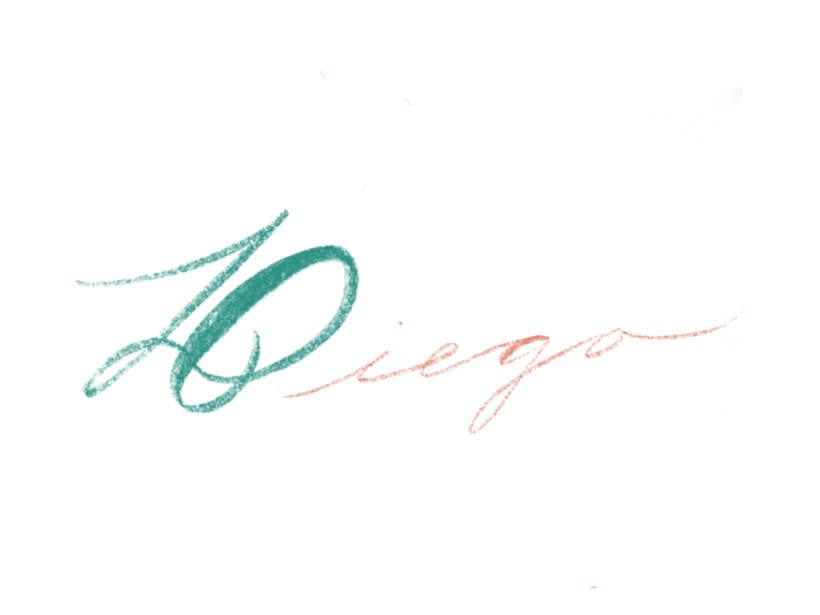 Diego - Calligraphy  -1