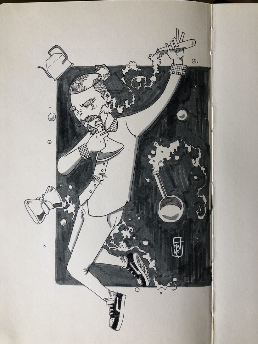 Inktober #1 4