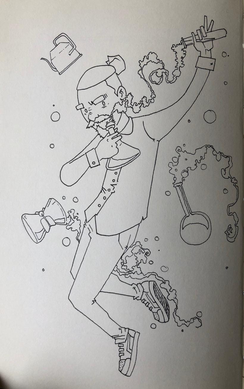 Inktober #1 3