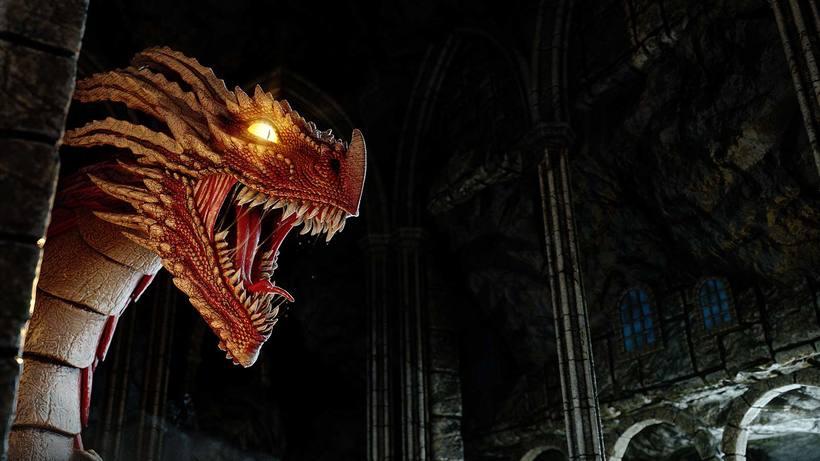 Dragon, Diseño, modelado e ilustración 3D 0