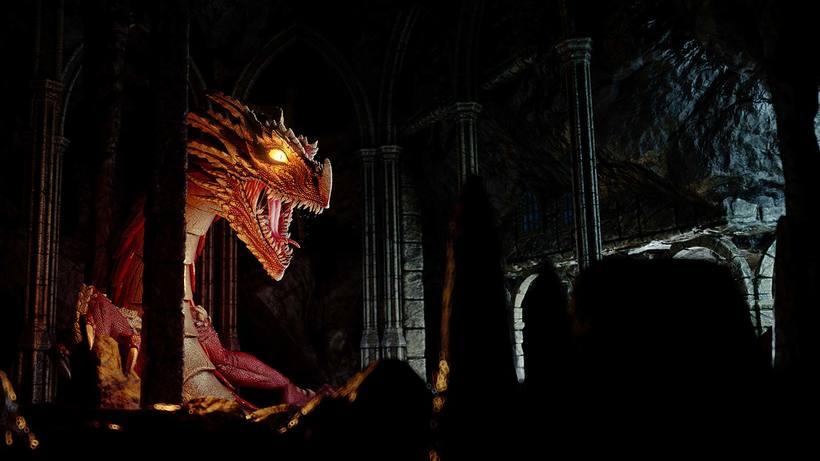 Dragon, Diseño, modelado e ilustración 3D 1