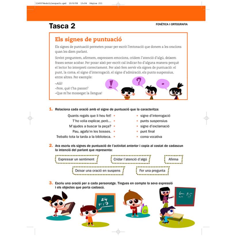 Cuento infantil y libro de texto 24