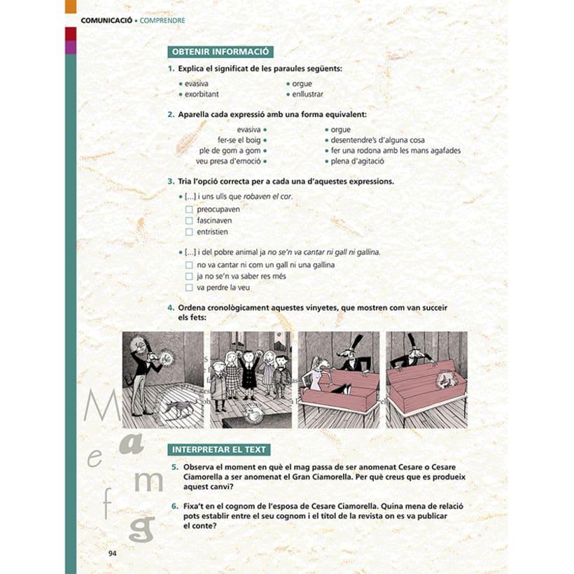 Cuento infantil y libro de texto 26