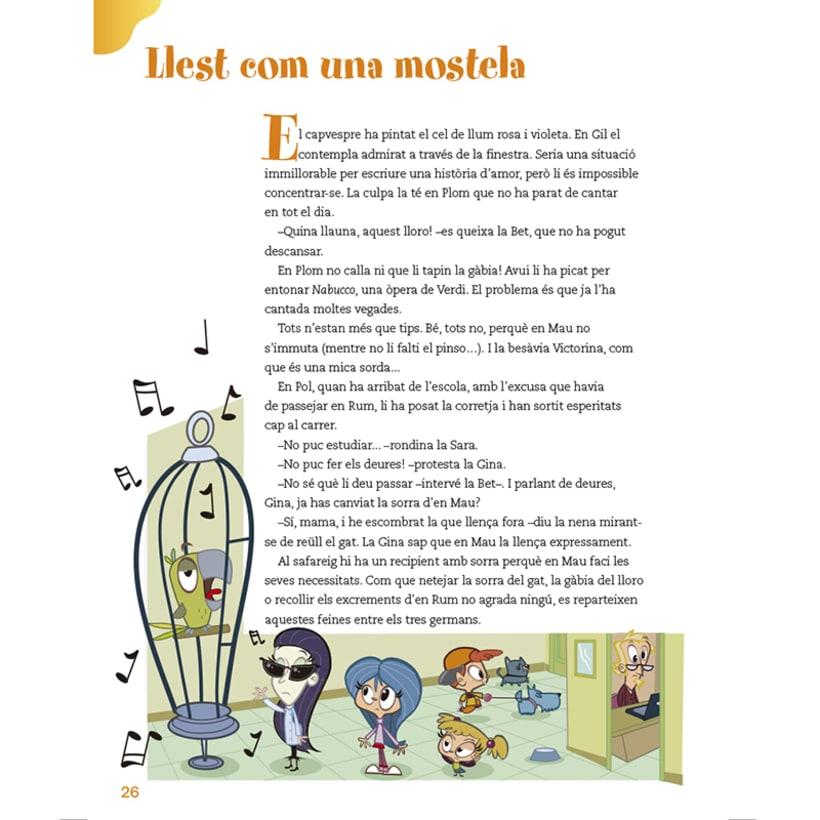 Cuento infantil y libro de texto 27
