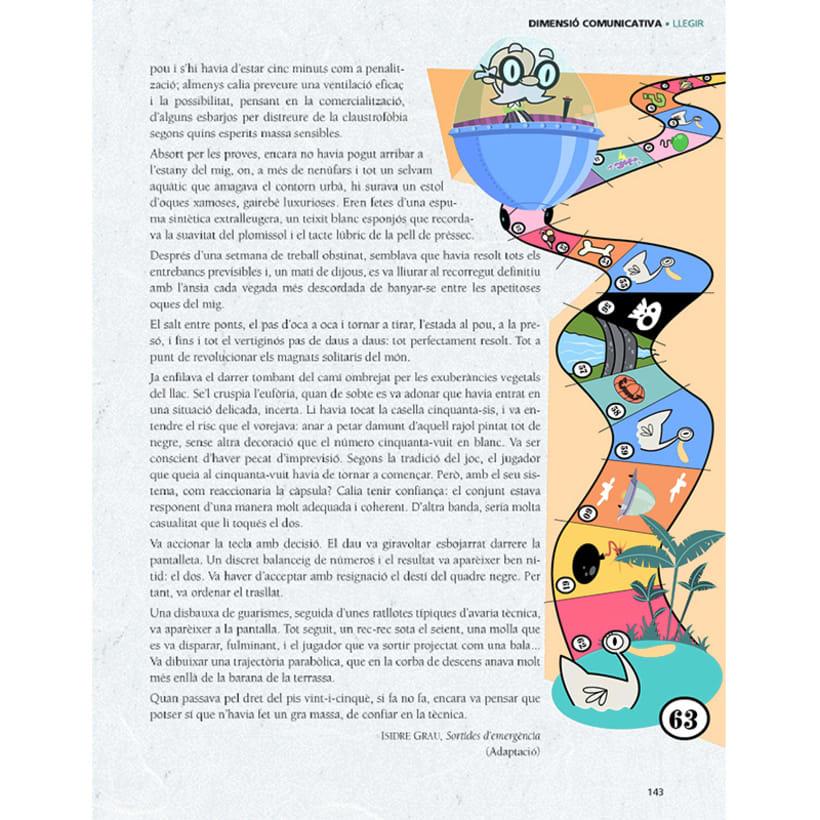 Cuento infantil y libro de texto 28