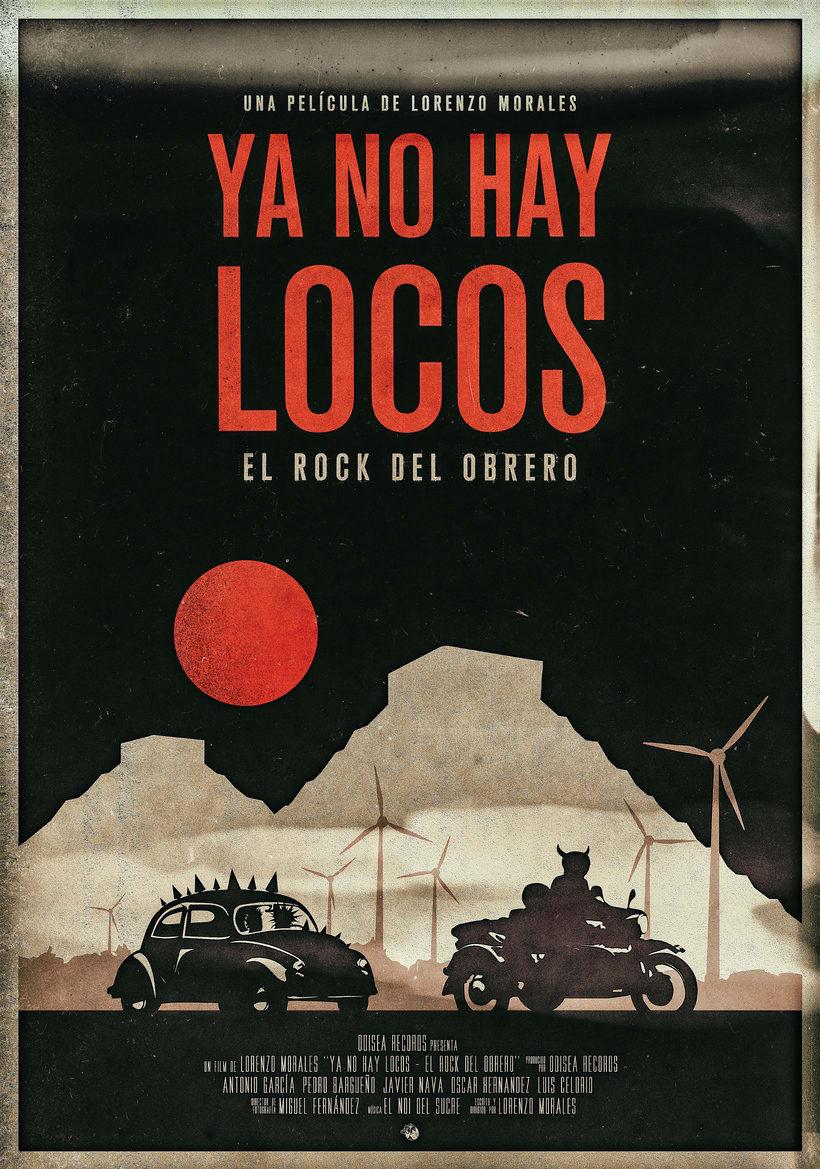 Cartel Ya no hay locos (proyecto Cartelismo ilustrado) 0