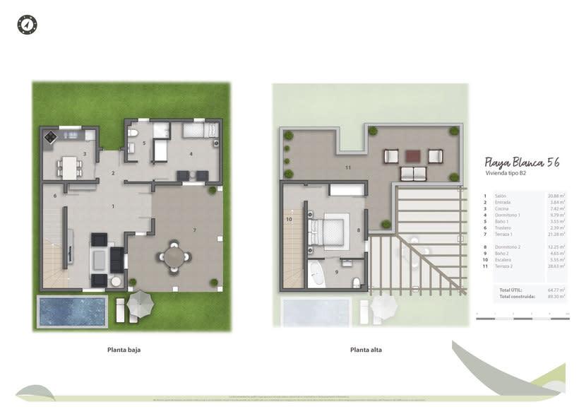 Planos de venta 2D Isla Baleares 1