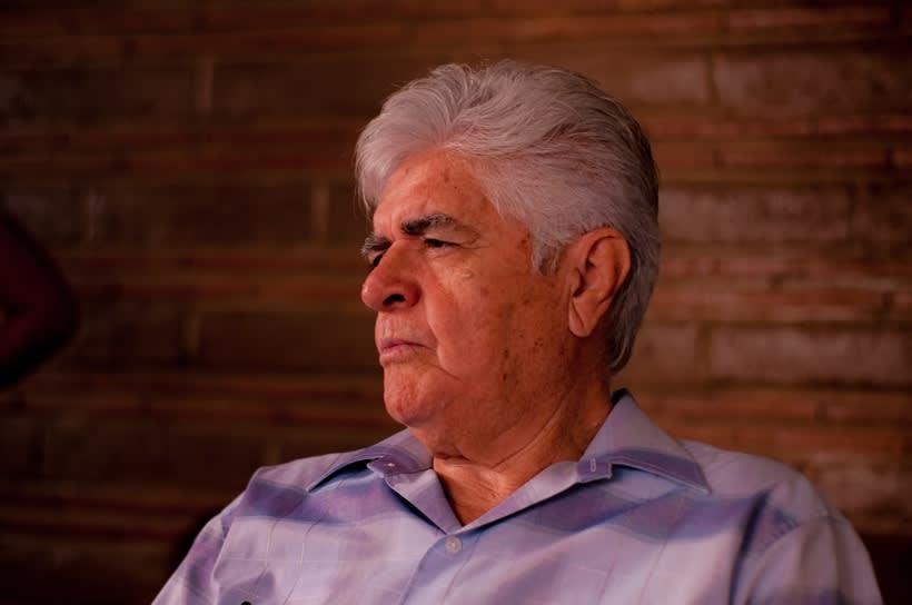 Fotografía de retrato con luz natural : Mi Padre 3