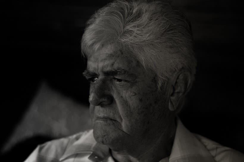Fotografía de retrato con luz natural : Mi Padre 5