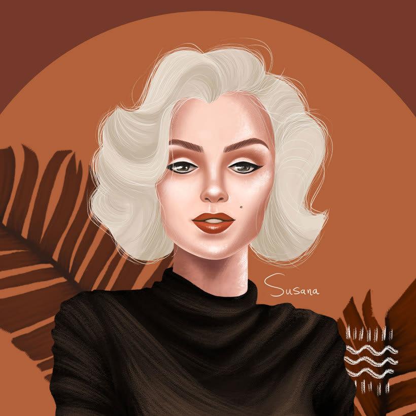 Marilyn Monroe. 1